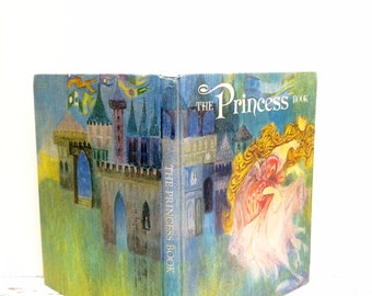The Princess Book, Bedtime Stories, First Edition, Classic Stories, Baby Girl Nursery, Classic Fairytales, FairyTale Book, Princess Book