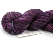 Punkish--hand dyed sock weight yarn, MCN (435yds/100gm)