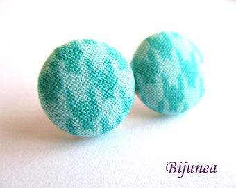 Blue earrings - Turquoise stud earrings - Turquoise posts - Turquoise studs - Blue turquoise post earrings sf1281