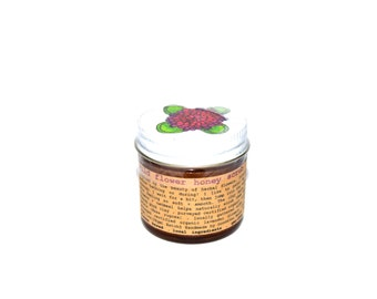 Wild Flower Honey Scrub . natural skin care