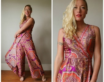 1960s Moroccan Summer Dress~Size Extra Small to Small