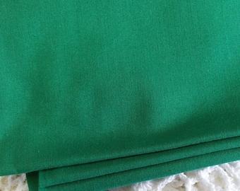 021 ~ Christmas fabric Green fabric Solid green fabric