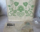 Vintage Jewel Tone Handbag Kit, No Sewing, No Stitching, RESERVED Pre-Sold to P.G.