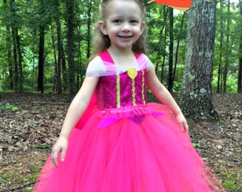 Aurora Tutu Dress - Aurora Costume - Aurora Dress - Sleeping Beauty Costume
