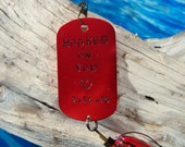Valentines Day Gift for Your Valentine Gift Idea for Him Handstamped Valentines Gift for Her Hooked on You Fishing Lure Gift for Husband