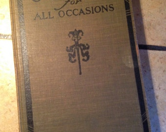 1922 Jokes For All Occasions Book