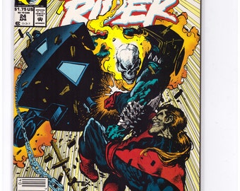 Ghost Rider Issue 24 in NM Condition 16-7-03