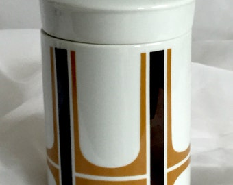 Vintage Ceramic Canister - Mid Century - Japan