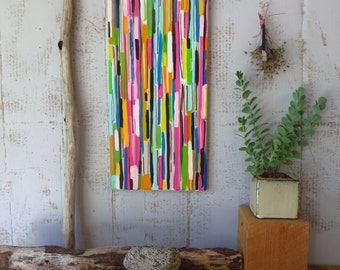 Abstract Stripes Original Painting