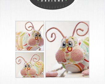 Katie-pilla Softie - Caterpillar soft toy PDF Pattern