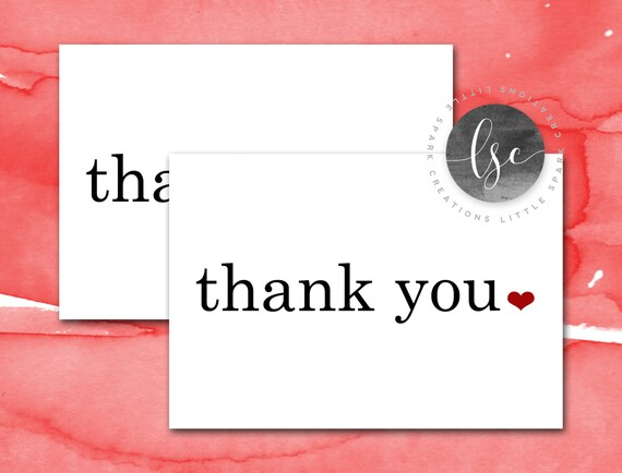 Printable Thank You Cards, Thank You Notes, Note Cards, Thank You Notecards, Mr and Mrs Thank You Card Instant Download Printable