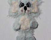 Pale Blue Koala tear bear paper piecing for scrapbooking