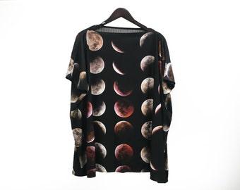SAMPLE SALE. Blood Moon Jersey Top