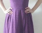 Purple Vintage Summer Dress