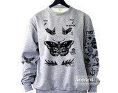 Harry Style Tattoos Sweatshirt Sweater Jumper Pullover shirt – Size S M L XL