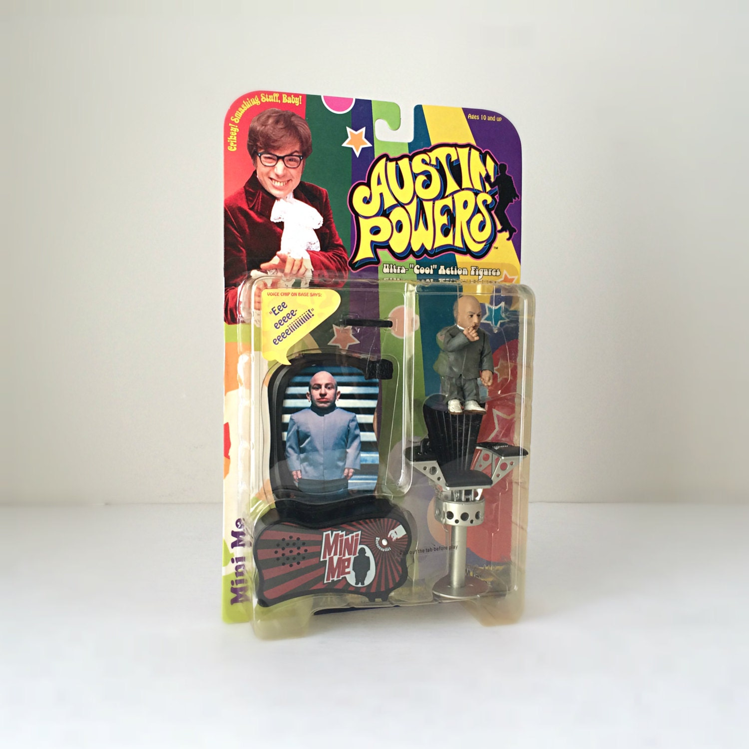 1990 S Toys : S austin powers mini me action figure mcfarlane toys
