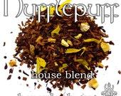 Hufflepuff House Blend - loose leaf honeybush tea, lemon orange lime, citrus cake tea, Harry Potter gift, wizard gift, Cedric Diggory