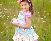 The Tenley Tea party dress by Corinna Couture
