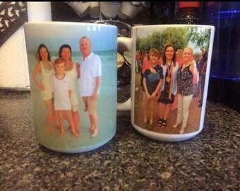 Custom Photo Mug or Stainless Water Bottle