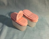 Tupperware Pink Modular Mates Spice Containers Set of 2