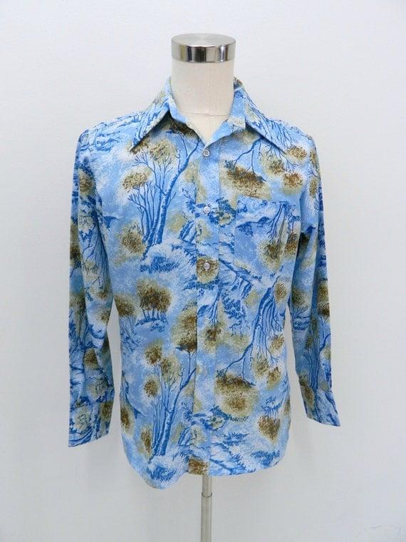 Light Blue Mens Dress Shirt