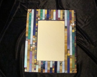 MOSAIC MIRROR, Rectangle, Multi Color, Wall Art, Home Decor