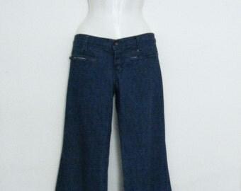 Vintage 70s Fredericks Of Hollywood Disco Pants In Pearl