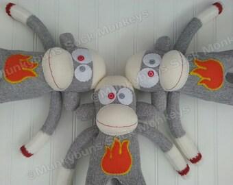 2016 Year of the Fire Monkey Sock Monkey