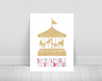 Mary Poppins-Supecalifragilisticexpialidocious-Disney printable-Carousel Printable-Instant Download-Multiple Sizes Included