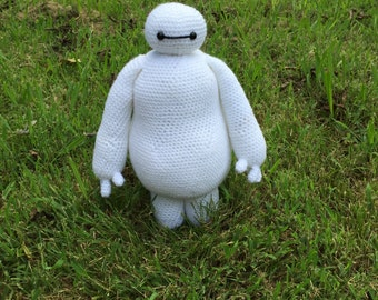 Baymax crochet pattern