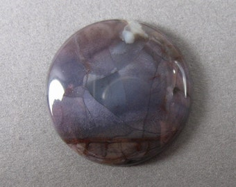 Purple Cow Jasper Round Cabochon 25.4 mm / 1 inch