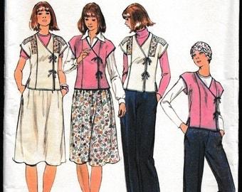 Butterick 4910 Junior Top,Skirt and Pants