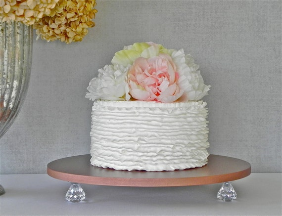 rose gold cake stand 16 wedding cake stand rose gold. Black Bedroom Furniture Sets. Home Design Ideas