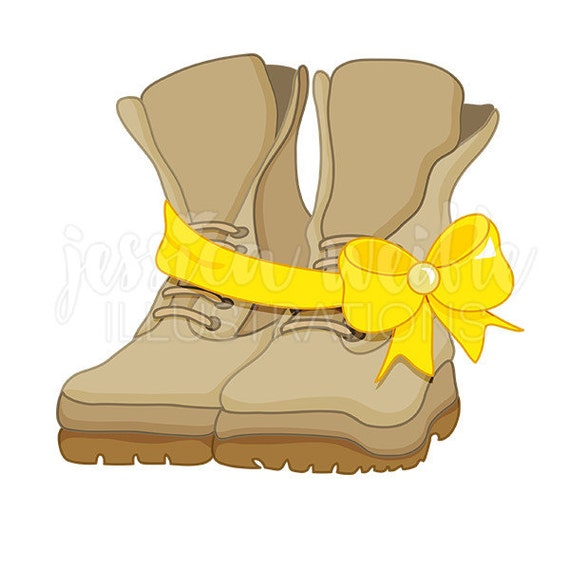 clipart of military boots - photo #3