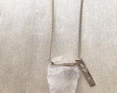 Crystal Arrowhead Necklace