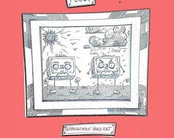 Appalachian Yard Art- Fussy (Cassette Tape + Digital Download)