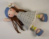 Crochet pattern for doll LILLY