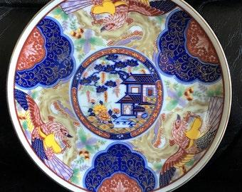 Vintage Imari Porcelain Plate