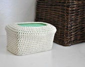 Cream Baby Wipes Box Cover Modern Nursery Decoration Off White Home Decor Custom Colors