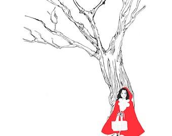 Little Red Riding hood - little print