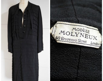 1940s Modele Molyneux dress