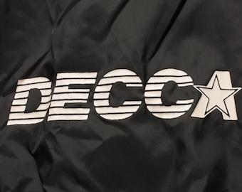 RESERVED – DECCA Jacket, Development & Construction Corporation of America, Vintage 70s-80s