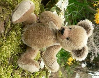 Grainger OOAK Handmade Miniature Mohair Teddy Bear
