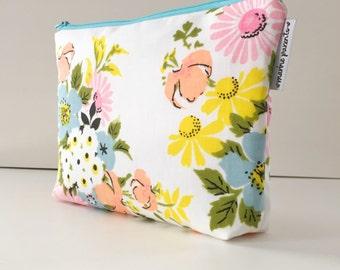 project bag -- vintage floral