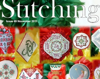 Issue 69 November 2011 - The Gift of Stitching Digital Magazine