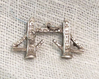 London Tower Bridge Sterling Silver Charm