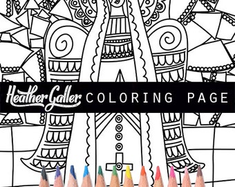 Coloring download Etsy