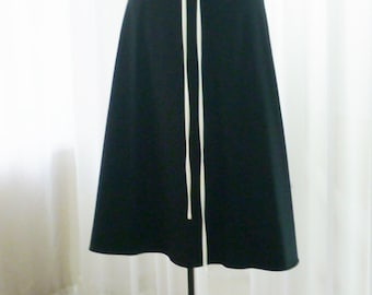 R&K Originals Black Sundress White Piping Rockabilly New With Tags Attached Size 16