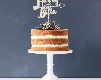 Personalised Ever After Cake Topper By Sophiavictoriajoy
