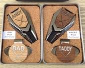 GROOMSMEN Gift, Personalized Golf Ball Marker & Divot Tool Set, Groomsman Gift, Best Man Gift, Groom Gift,Usher Gift,Wedding Favor,Golf gift
